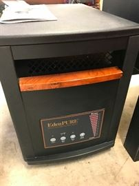Eden pure portable electric heater on wheels  $75.00  We have 3 of these   Interested?                                    call Barb 708-698-1155  we take cash at pickup and Paypal                  photo 1 of 2