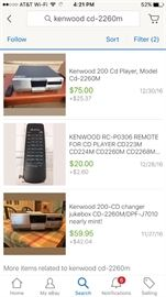 Kenwood DVD Player