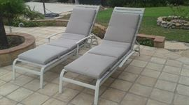 2 Well Made Lounge Chairs. Asking Price $80 for the Pair.