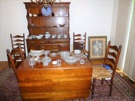 Very nice mahogany dining set