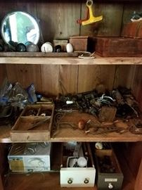 old door and cabinet hardware