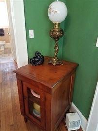 1880s globe lamp