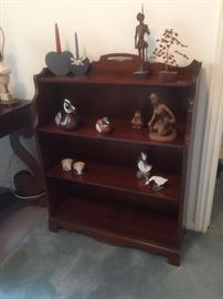 Cherry small bookcase