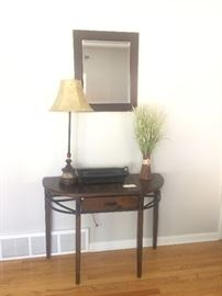 Look at this brand new entry way table! Stunning!!!!