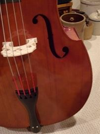 Scherl & Roth Otto Bruckner model - 3/4 Size Upright Bass -  very good condition, plywood throughout. Retail Value $2000-$2500. Comes with case/bow and great price