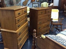 Pecan Chest of Drawers
