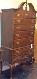 Ethan Allen High Boy 11-Drawer Chest