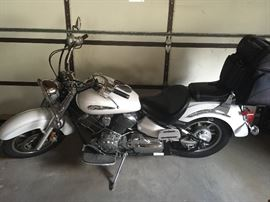 V-star Yamaha motorcycle 2008…  This item is the only item for pre-sale!!