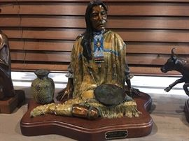 "Bronze ""Apache Skye"" by R. Scott Nickell 16"" x 13"""
