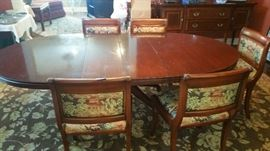 Banquet size Dining Room Table / chairs