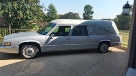 1990 Hearse - Drives and runs great.