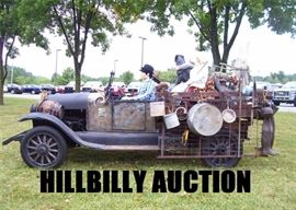 Hill billy auction ad