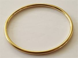 WDG003 Gorgeous Tiffany 14K Gold Bracelet