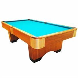 Vintage Steepleton Slate Billiards Table