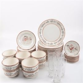 Holiday Themed Tableware Featuring Savinio Designs