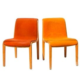 Mid Century Modern Bentwood Chairs by Knoll