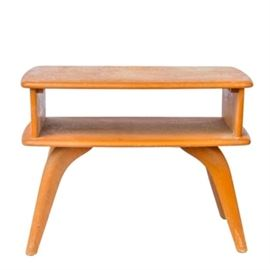 Mid Century Two Tier Side Table by Heywood Wakefield