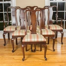 Ethan Allen Queen Anne Style Dining Set