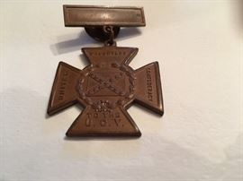 DAUGHTERS OF THE CONFEDERACY BADGE OF HONOUR