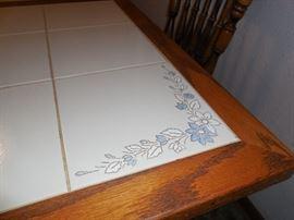 Ceramic-tile look