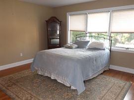Queen Bed & Curio