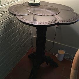 Very unique, vintage table