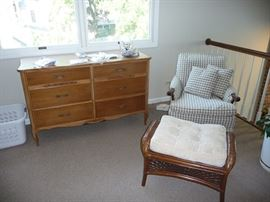 Chest of Drawers and Chair
