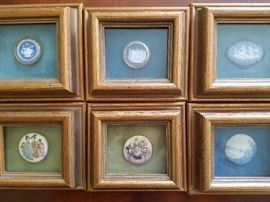 Framed broaches