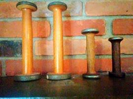 Vintage thread spools