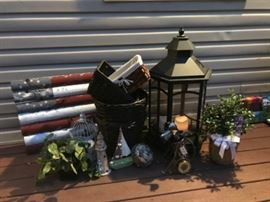 Yard Lantern, Live Holly Tree, Nautical Decor, Baskets & Smalls