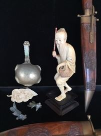 Carved Bone and Stone Items