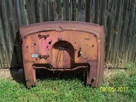 "1934 Chevy 1.5 Ton ""Master""  pickup truck- cab firewall / dash"