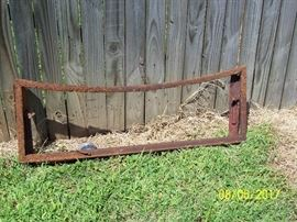 """1934 Chevy 1.5 Ton , """"Master""""  Pickup Truck- Front window frame with windshield wiper assembly"""