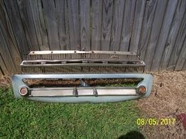 1964 Dodge Dart, 270 style, front grill and turn lights assembly, excellent condition