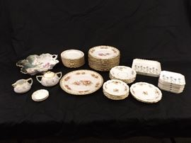Lot of Misc Vintage Limoges, Haviland, Austria, etc Porcelain Dishes