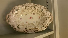 As you can see by the pictures, gorgeous porcelain hand painted  items.