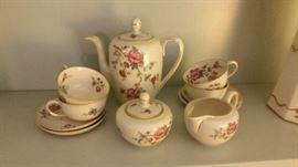 Johann tea set Haviland Bavaria #691