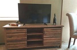 """Wood Console, 42"""" LG"""