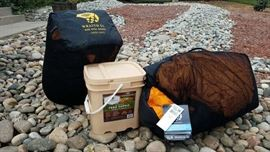 Mountain Hardware Sleeping Bags, MRE Food Supply