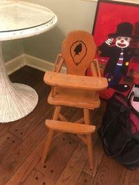 #19Dolls High Chair $25.00