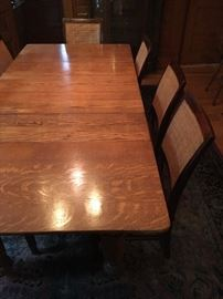 Golden Oak Dining Table