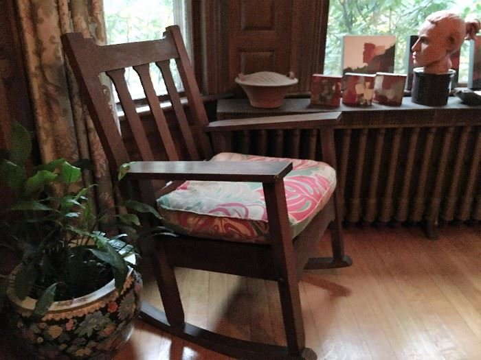 Mission Style Rocking Chair
