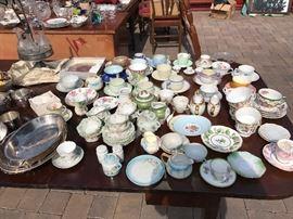 Tea cup collectio