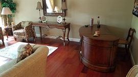 Sofa table, executive desk