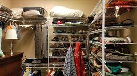 size 10 clothing, some petite, shoe size 6 1/2