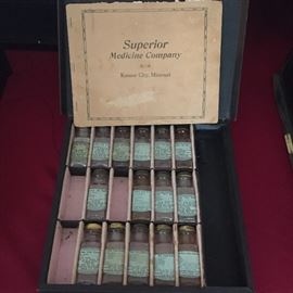 Superior Medicine Company medicines in original box