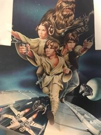 1979 STAR WARS POSTER