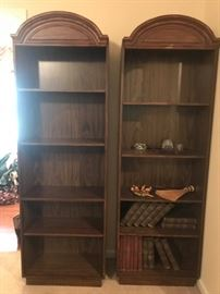 #9 (#3) Laminate Bookcases 25x11x77 $75 each