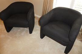 Vintage tub chairs
