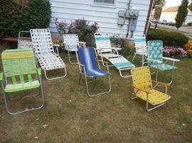 folding lawn chair brigade